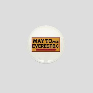 Way to Mt. Everest B. C., Nepal Mini Button