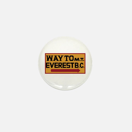 Way to Mt. Everest B. C., Nepal Mini Button