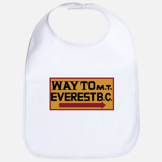 Way to Mt. Everest B. C., Nepal Bib