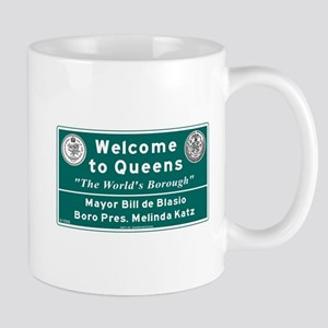 Welcome to Queens, NYC Mug