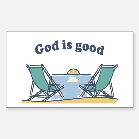 God is good Decal
