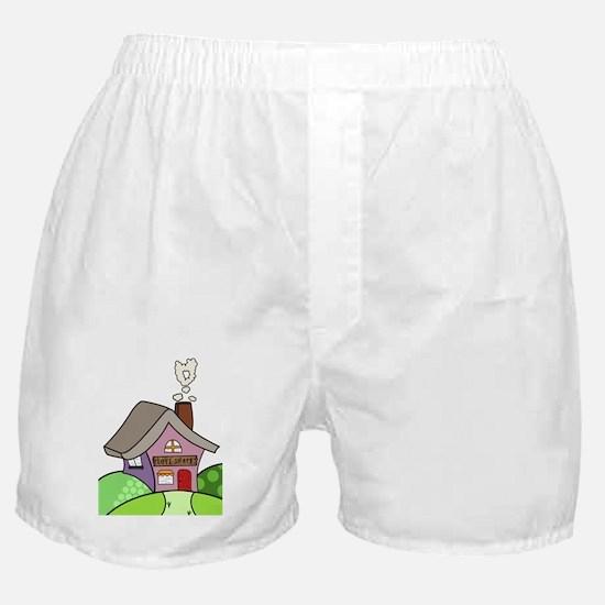 Cute Housewarming Boxer Shorts