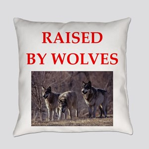 wolves Everyday Pillow