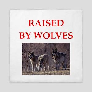 wolves Queen Duvet