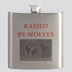 wolves Flask