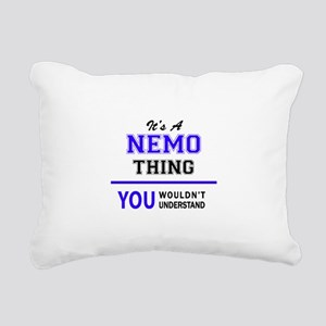 It's NEMO thing, you wou Rectangular Canvas Pillow