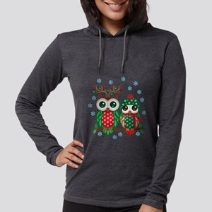 Christmas Owl Couple Long Sleeve T-Shirt