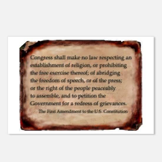 First Amendment Postcards (Pack of 8)