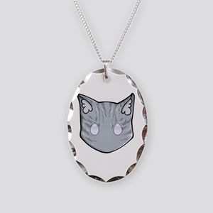 Chibi Jayfeather Necklace Oval Charm
