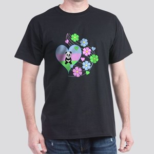 Fun Panda Heart T-Shirt