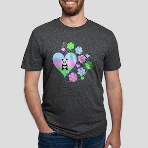 Fun Panda Heart T-Shirt