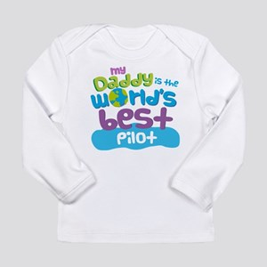 Pilot Gifts for Kids Long Sleeve Infant T-Shirt