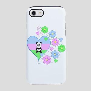 Fun Panda Heart iPhone 8/7 Tough Case