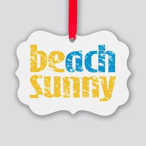 Beach Sunny Ornament