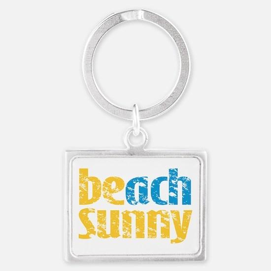 Beach Sunny Keychains