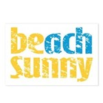 Beach Sunny Postcards (Package of 8)