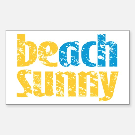 Beach Sunny Decal