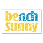 Beach Sunny Sticker