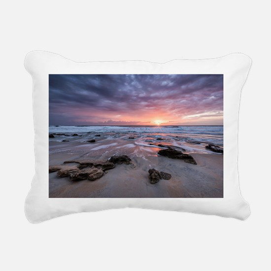 Cute Sunrise Rectangular Canvas Pillow