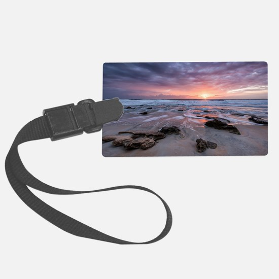 Cute Sunrise Luggage Tag