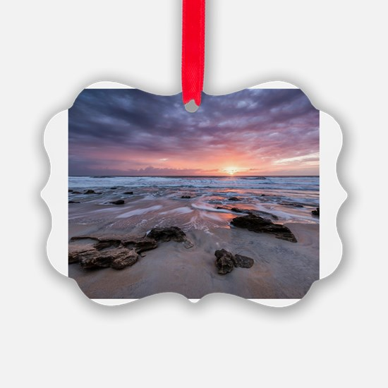 Cute Sunrise Ornament