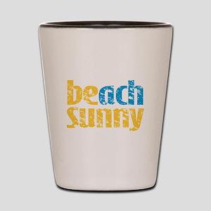 Beach Sunny Shot Glass