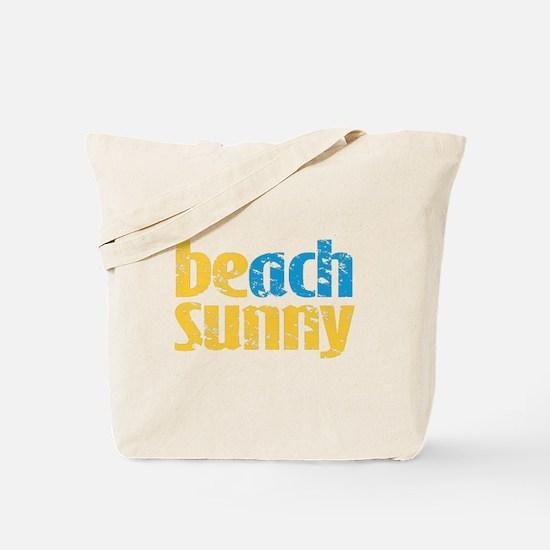 Beach Sunny Tote Bag