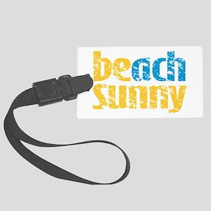 Beach Sunny Luggage Tag