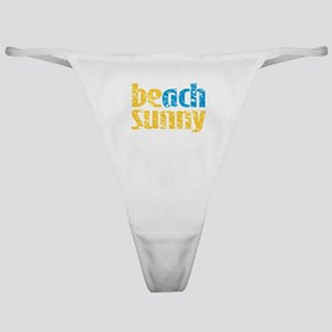 Beach Sunny Classic Thong