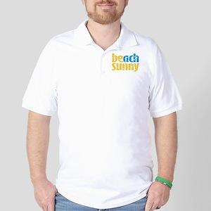 Beach Sunny Golf Shirt