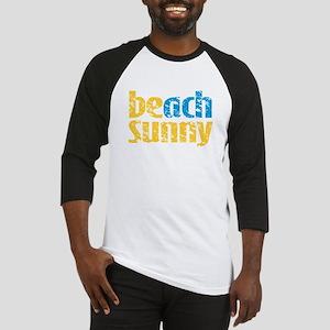 Beach Sunny Baseball Jersey