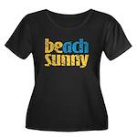 Beach Sunny Plus Size T-Shirt