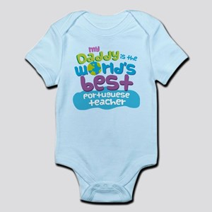 Portuguese Teacher Gifts for Kids Infant Bodysuit