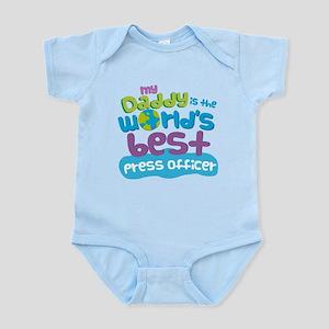 Press Officer Gifts for Kids Infant Bodysuit