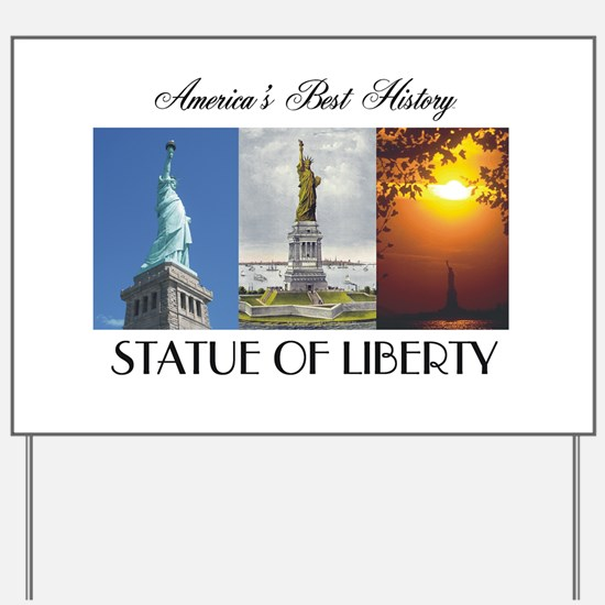 ABH Statue of Liberty Yard Sign
