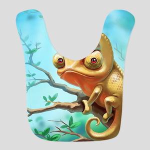 Cute Chameleon Bib