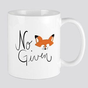No Fox Given Mugs