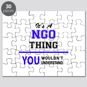 It's NGO thing, you wouldn't understand Puzzle