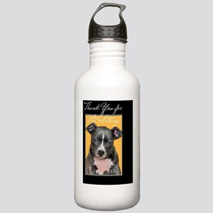 Thank You Petsitter Pi Stainless Water Bottle 1.0L