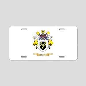 Squire Aluminum License Plate