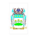 Spurling Sticker (Rectangle 50 pk)