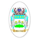Spurling Sticker (Oval 50 pk)