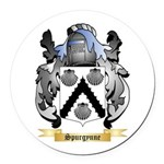 Spurgynne Round Car Magnet