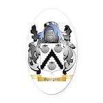 Spurgone Oval Car Magnet
