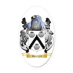 Spurgin Oval Car Magnet