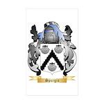 Spurgin Sticker (Rectangle 50 pk)