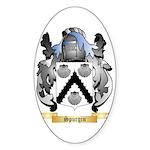 Spurgin Sticker (Oval 50 pk)