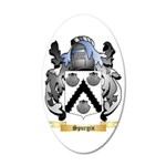 Spurgin 35x21 Oval Wall Decal
