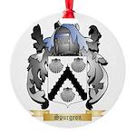 Spurgeon Round Ornament