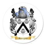 Spurgeon Round Car Magnet